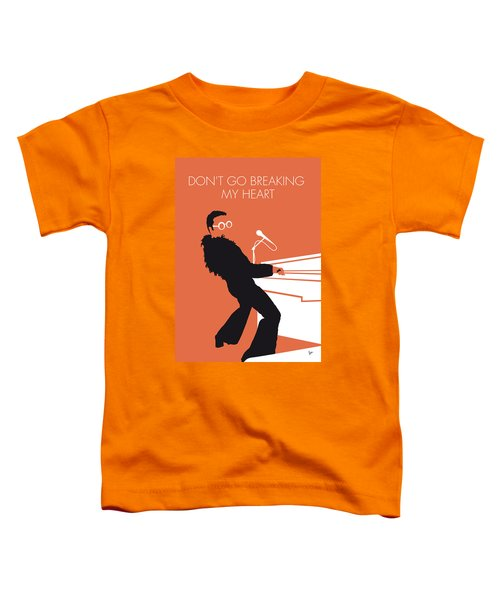 No053 My Elton John Minimal Music Poster Toddler T-Shirt