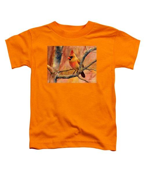 Northern Cardinal II Toddler T-Shirt