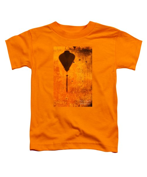 Ochre Wall Lantern Shadow Toddler T-Shirt