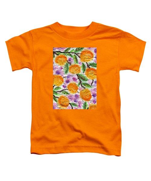 Orange Blossoms Toddler T-Shirt