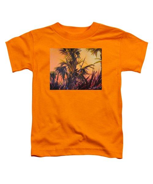 Palmettos At Dusk Toddler T-Shirt