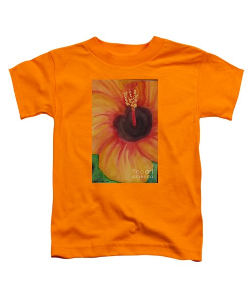 Passion Flower Toddler T-Shirt