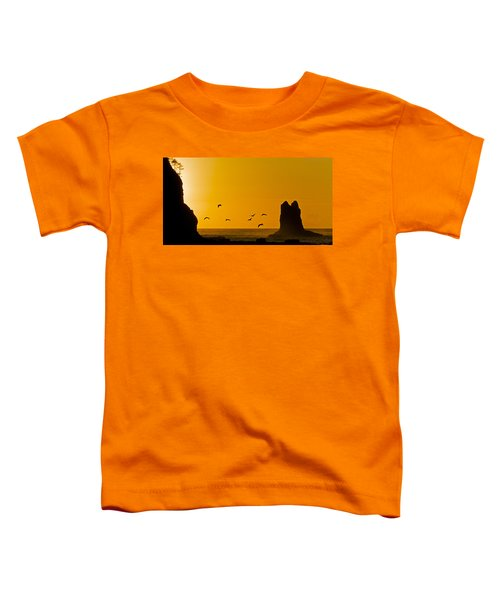 Pelicans On The Wing II Toddler T-Shirt