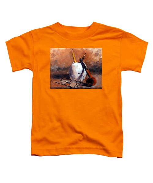 Pencils And Pipe Toddler T-Shirt