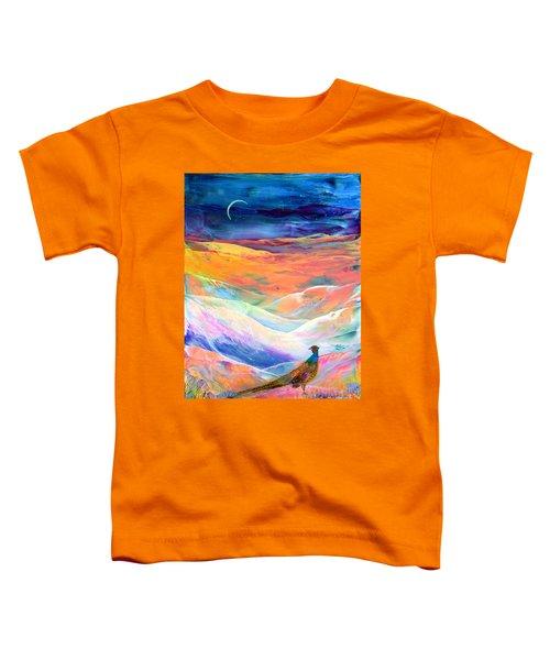 Pheasant Moon Toddler T-Shirt