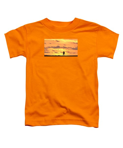 Playing To The Sun Toddler T-Shirt
