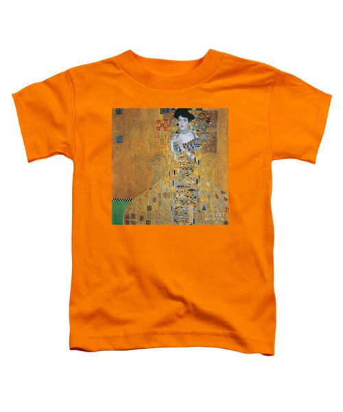 Portrait Of Adele Bloch-bauer I Toddler T-Shirt