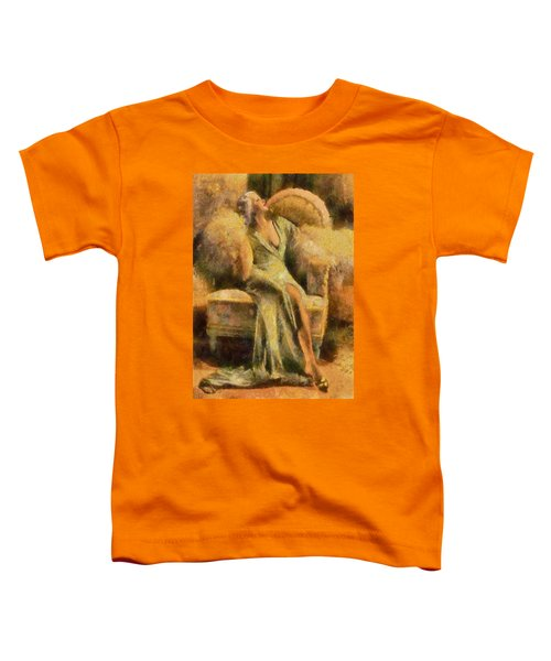 Portrait Of Jean Harlow Toddler T-Shirt
