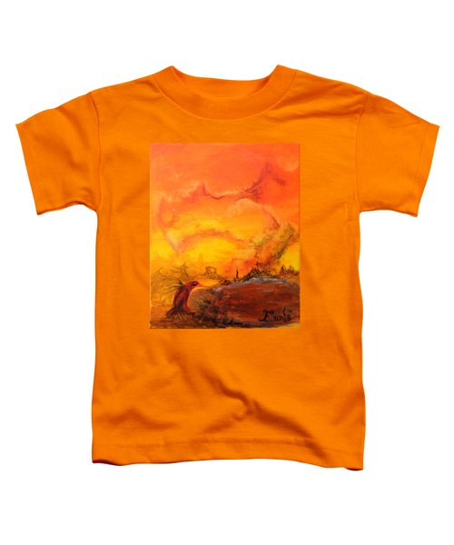Post Nuclear Watering Hole Toddler T-Shirt