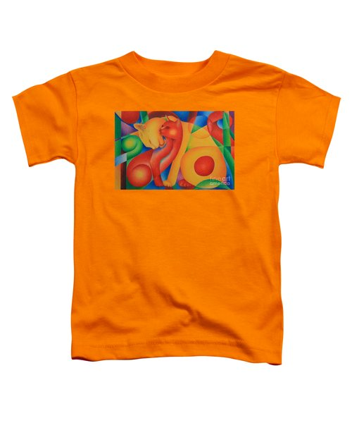 Primary Cats Toddler T-Shirt