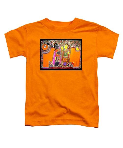 Radha And Krishna Toddler T-Shirt