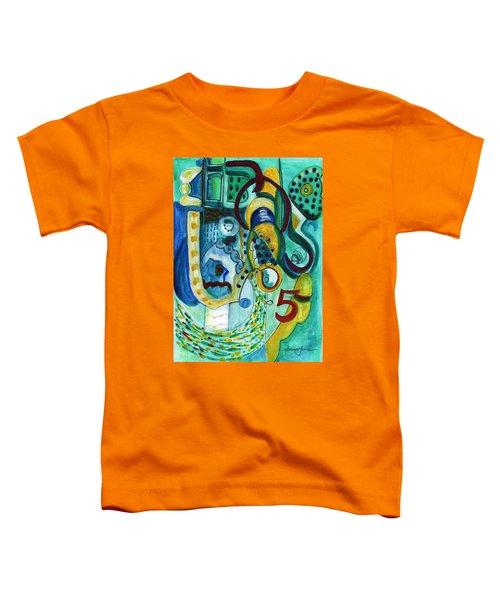 Reflective #5 Toddler T-Shirt