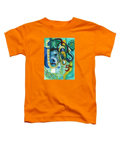 Reflective #5 Toddler T-Shirt