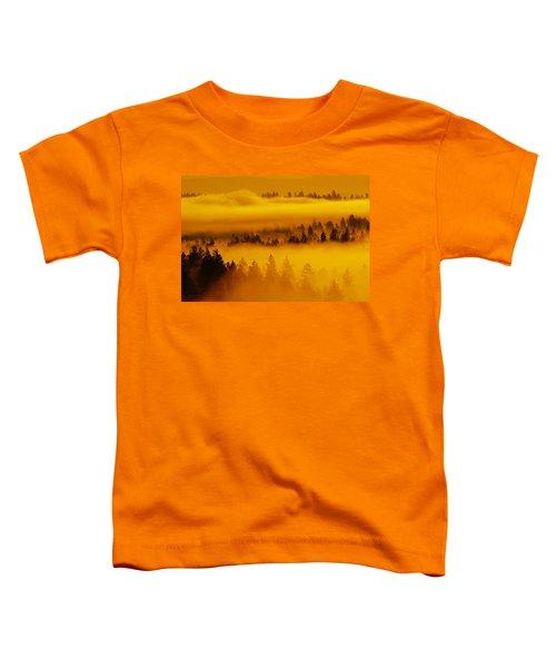 River Fog Rising Toddler T-Shirt