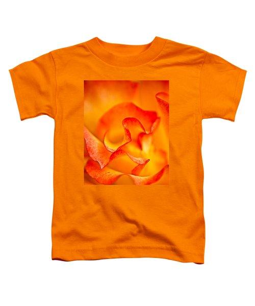 Rose Petals Closeup Toddler T-Shirt