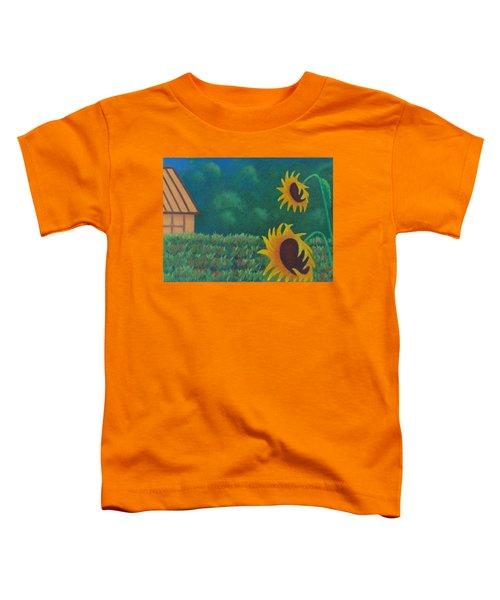 Sergi's Sunflowers Toddler T-Shirt