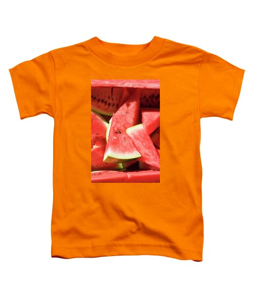Several Pieces Of Watermelon Toddler T-Shirt