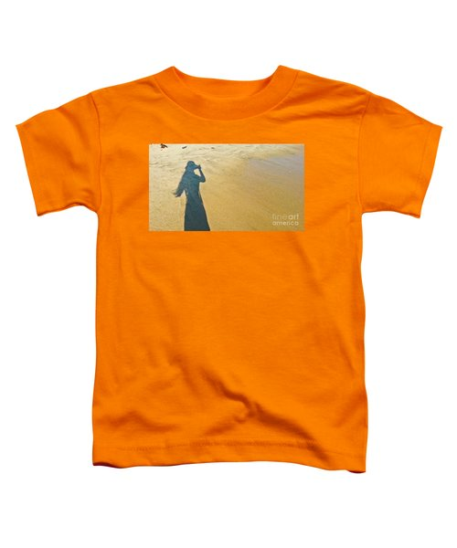 Shadow And Sand Raw Toddler T-Shirt