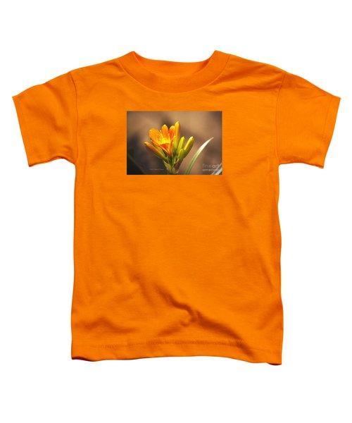 Single Kaffir Lily Bloom Toddler T-Shirt