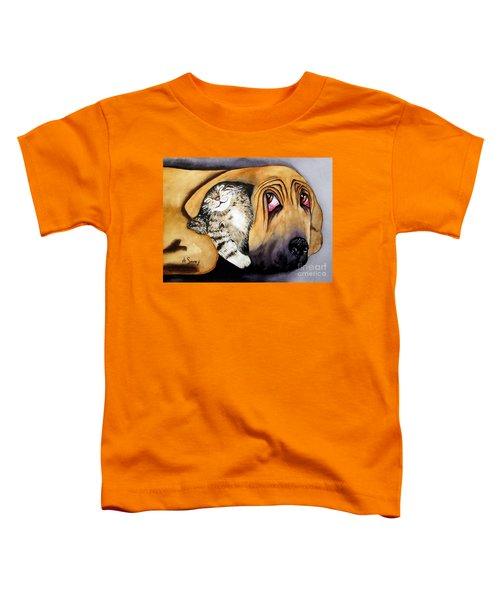 Snuggles Toddler T-Shirt