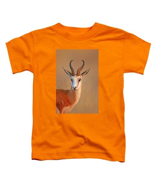 Springbok  Portrait Toddler T-Shirt