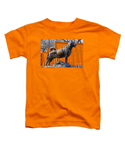 Statue Of Balto In Nyc Central Park Toddler T-Shirt