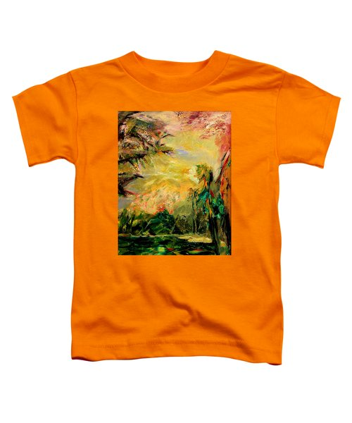 Steamy Cove Toddler T-Shirt