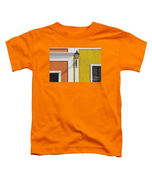 Street Light In Old San Juan Streetlight Puerto Rico Toddler T-Shirt