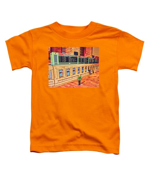 Sunday Am At Grand Central Toddler T-Shirt