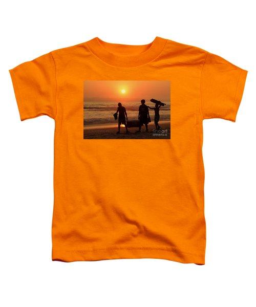 Ocean - Sundown Sunset Toddler T-Shirt