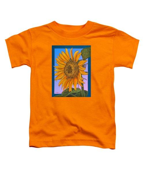 Da154 Sunflower By Daniel Adams Toddler T-Shirt