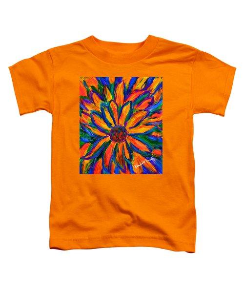 Sunflower Burst Toddler T-Shirt