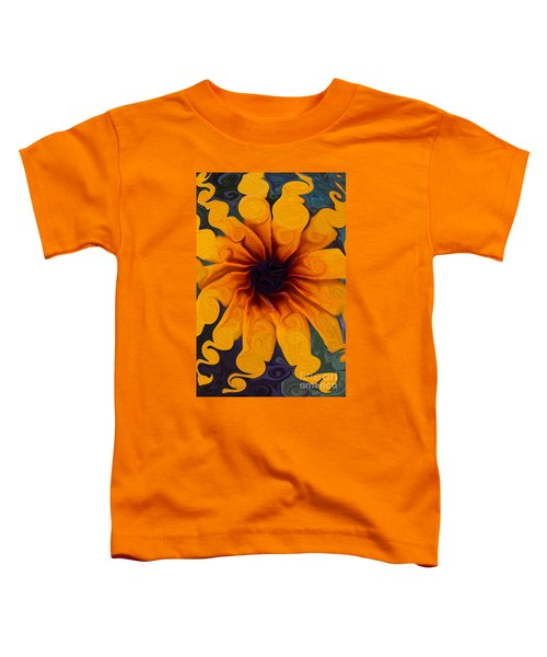 Sunflowers On Psychadelics Toddler T-Shirt