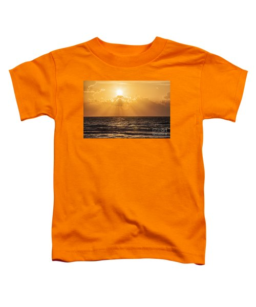 Sunrise Over The Caribbean Sea Toddler T-Shirt