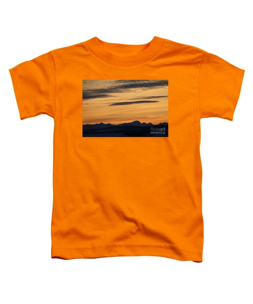 Sunset From 567 Toddler T-Shirt