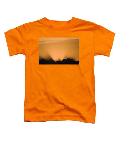 Sunset, Glacier Bay National Park Toddler T-Shirt