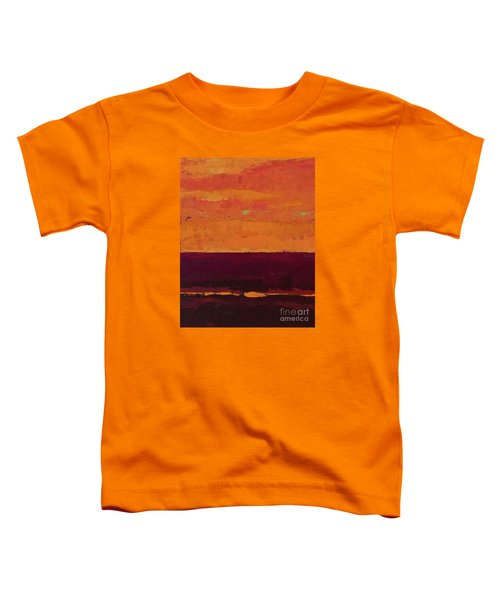 Sunset On The Pier Toddler T-Shirt