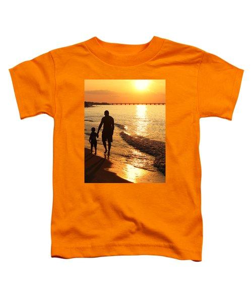 Sunset Stroll Toddler T-Shirt