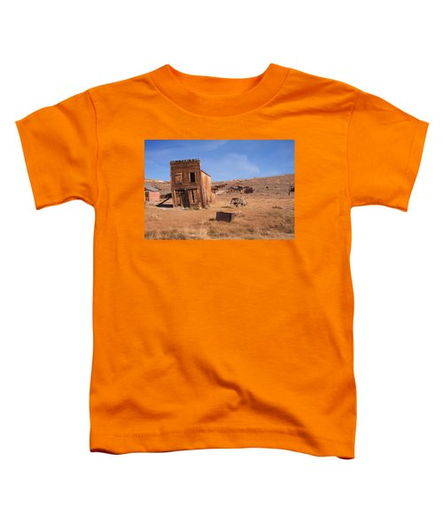 Swazey Hotel Bodie Ghost Town Toddler T-Shirt