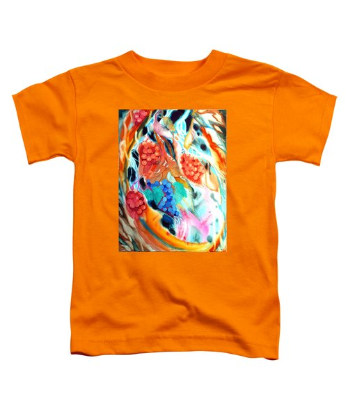 Swirling Grapes Toddler T-Shirt