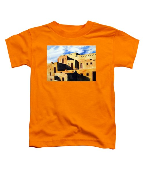 Taos Pueblo Toddler T-Shirt