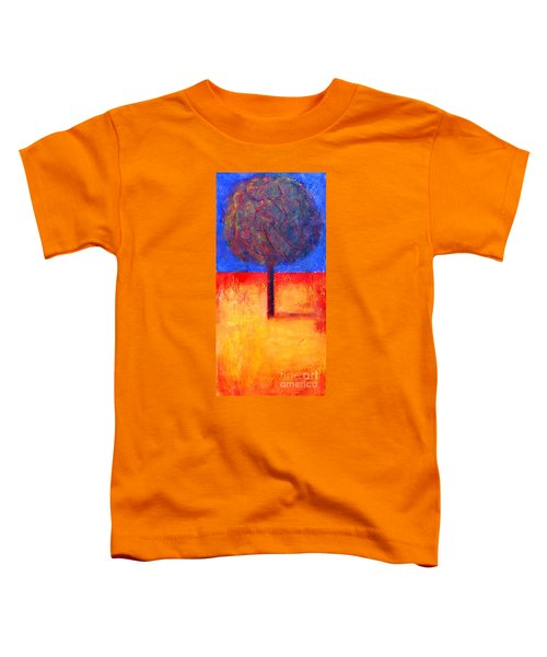 The Lonely Tree In Autumn Toddler T-Shirt