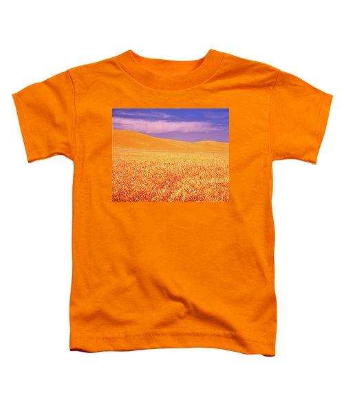 The Palouse Steptoe Butte Toddler T-Shirt