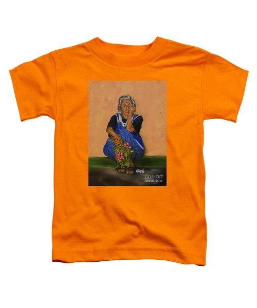 The Parga Flower Seller Toddler T-Shirt