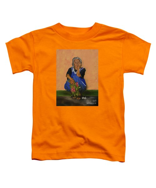 The Parga Flower Seller Toddler T-Shirt