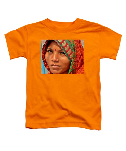 The Pride Of Indian Womenhood Toddler T-Shirt