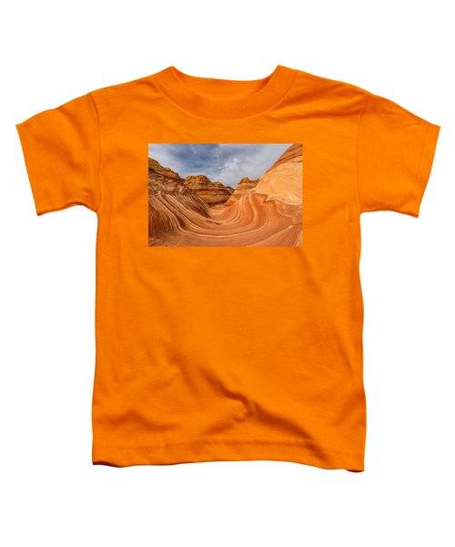 Toddler T-Shirt featuring the photograph The Wave by Dustin  LeFevre
