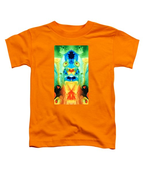 The Wedding - Abstract Art By Sharon Cummings Toddler T-Shirt