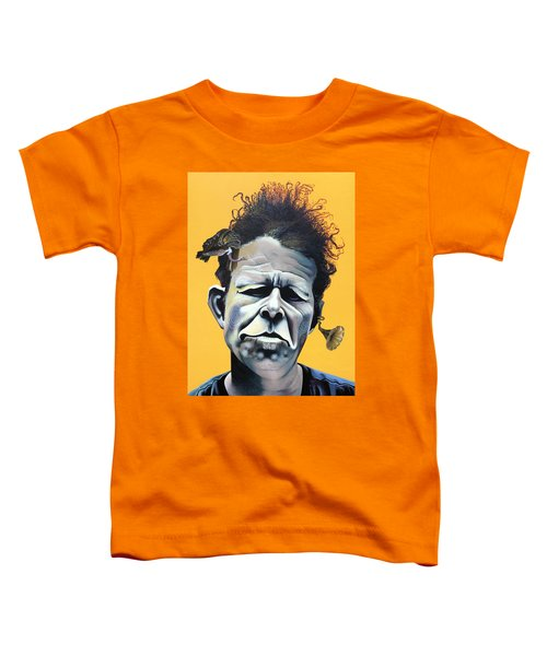 Tom Waits - He's Big In Japan Toddler T-Shirt