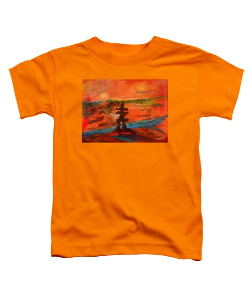 Top Of The World Toddler T-Shirt